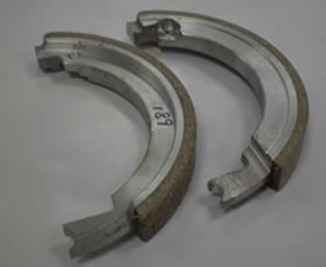 Main Spindle Brake Shoes for KRV 1500 / 2000 (Pair)