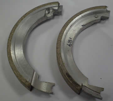 Main Spindle Brake Shoes for KRV 3000 & 4000 (Pair)