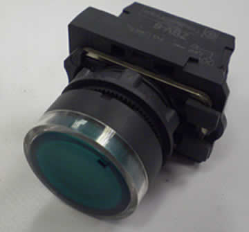 On Button Green Illuminated - XYZ 1500