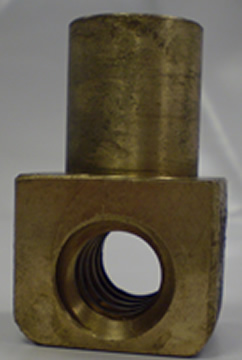 Vice Nut To Suit AType Vice AT-150-5 - Phos Bronze