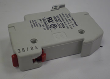 Fuse Holder For XYZ Turret Mills 10 X 38 DIN Rail 32 Amp