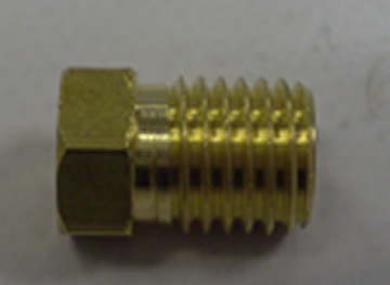 4mm Brass Tubing Nut For Lube System