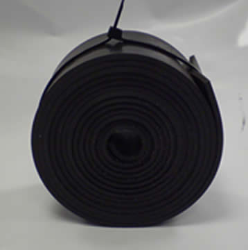Rubber Door Strip Pro 410 2000mm x 65mm x3 mm