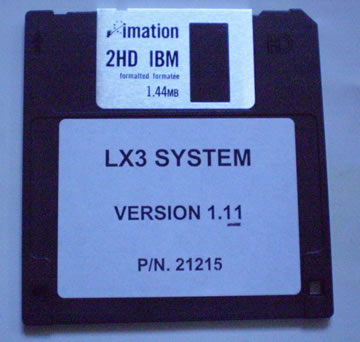 LX3 System Disk