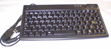 Keyboard C/W Integral Track Ball For Pendant Control - USB