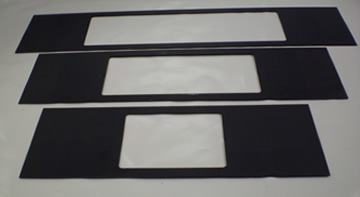 Chip Guard Cover Plates For DPM 4000 / 5000 (3 Piece Set)