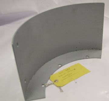 Chuck Cover Guard For 200mm Chuck On VL 355