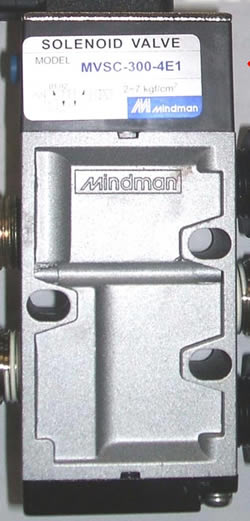 Mindman Air Solenoid For XYZ 560 & 710 VMc