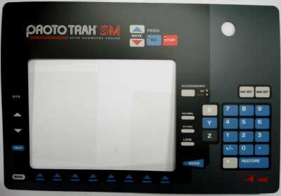 Overlay ProtoTRAK PT4 SM This Item is non-returnable