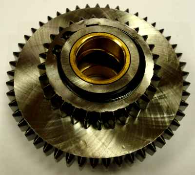 Gear Cluster For KL 1430 Lathe Inc. 5124 5125 5126