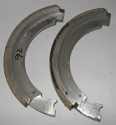 Brake Shoe Assembly - DPM/TRM