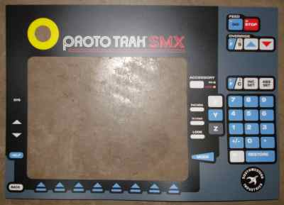 Front Panel Overlay SMX This Item is non-returnable