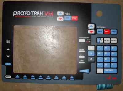 Overlay ProtoTRAK PT4 VM This Item is non-returnable