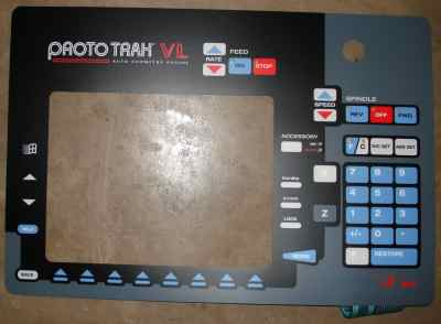 Overlay ProtoTRAK PT4 VL This Item is non-returnable