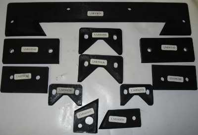 Wiper Kit For Proturn 555 3 Metre Machine