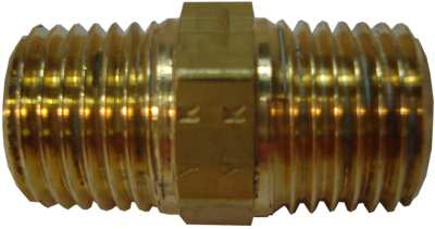 "Straight Male BSP Taper Equal 1/4"" - 1/4"""