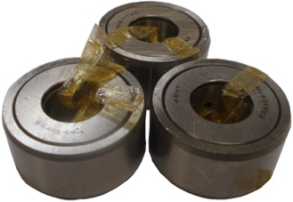 Set 3 Bearing for Fixed Steady 140-280mm For 555 Lathe