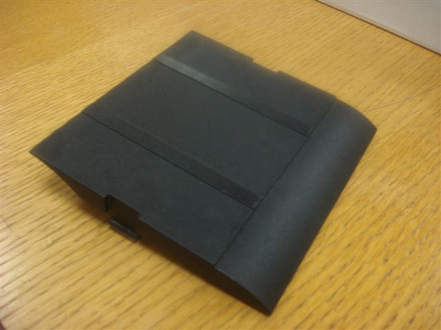 Cable Carrier Cover Black For LPM - Old Type 120x112mm