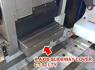 X Axis Slideway Cover For The CT 52 LTY