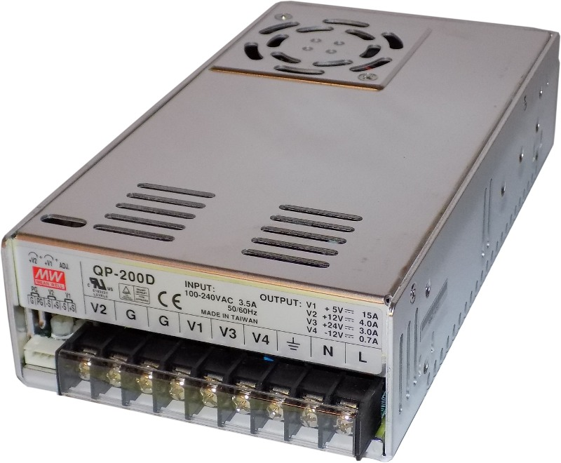 Power Supply - 200 W for 2-OP