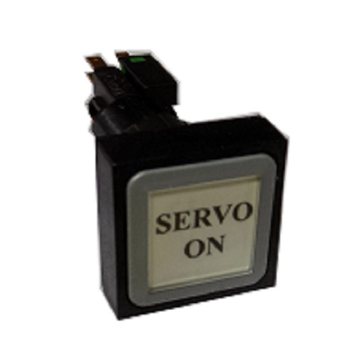 Servo On Button On Side Of The Control Panel Siemens VMC TC