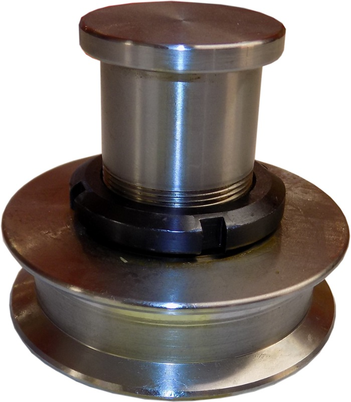Rollers And Bearings For Chain On Counter Weight DPM