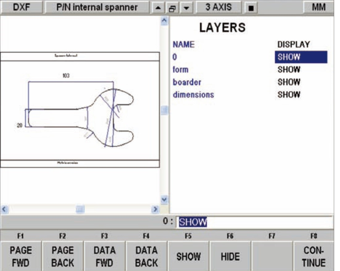 DXF File Convertor To Suit SMX or SLX (Control)