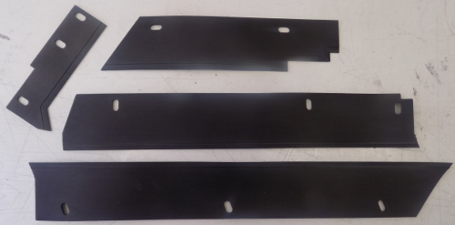 Back Rubber Wiper Set Only Main Door  CT 52 / 65
