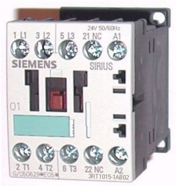 Siemens Contactor 3RT1015-1AB02 For XYZ 1020