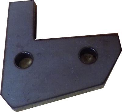 Flat Wiper Retainer For XYZ 1745 Lathe
