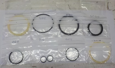 Tailstock Seal Kit  200 TC