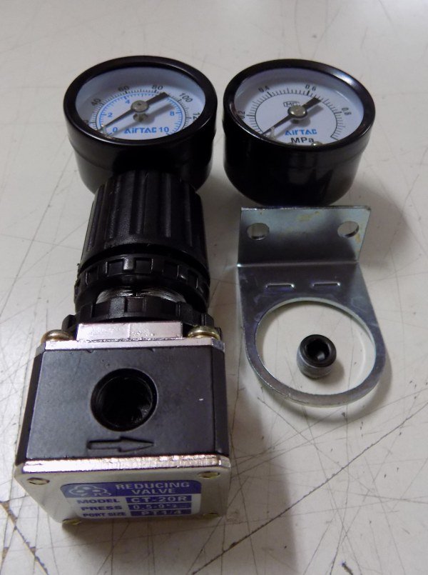 Air Vessel Regulater Valve Including Gauge 1020 1060 VMC
