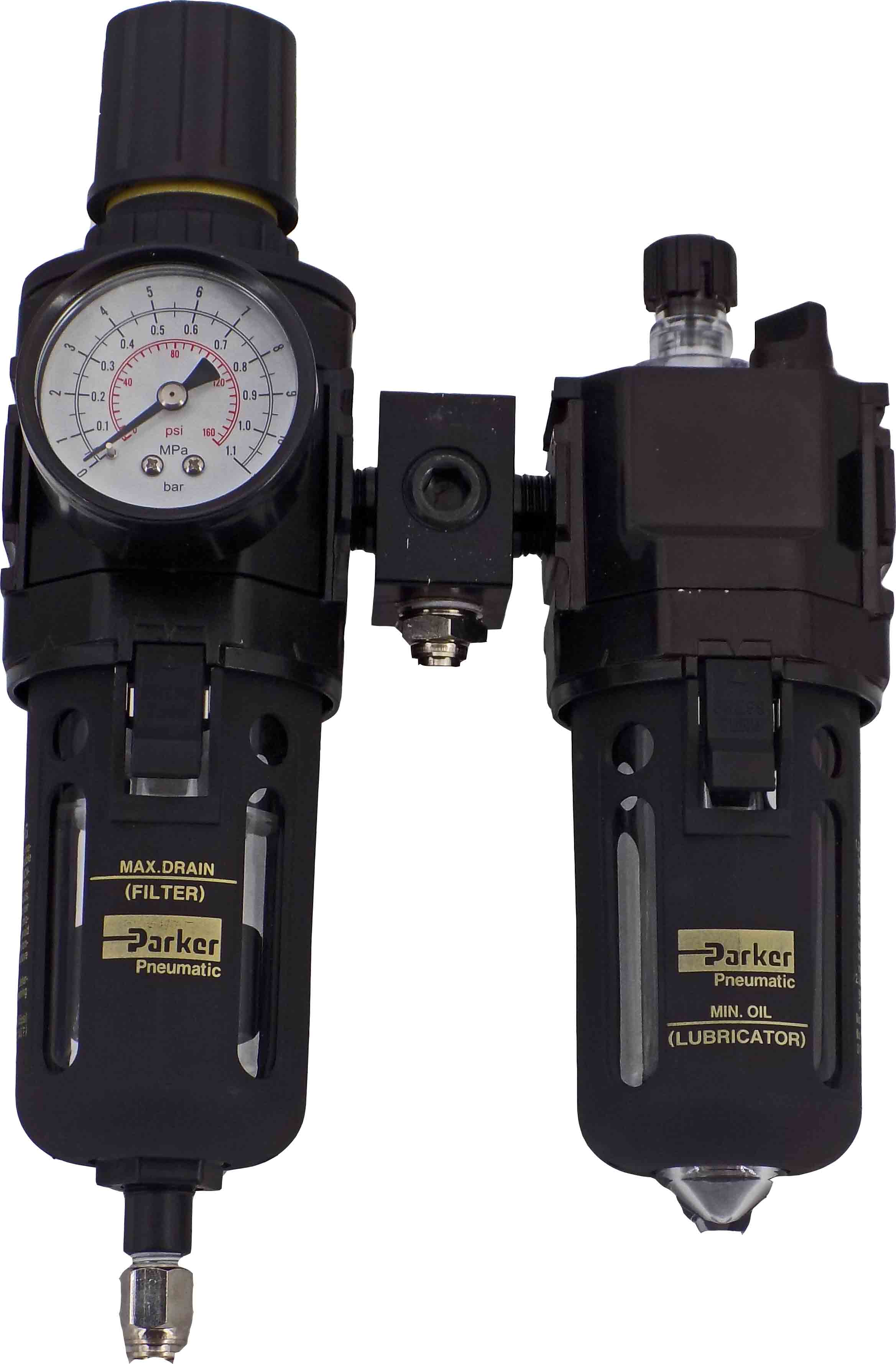Complete Mindman Air Regulator Unit For Vulcan