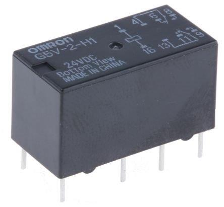 Omron Relay 1 Amp 24V DC On RLX Module