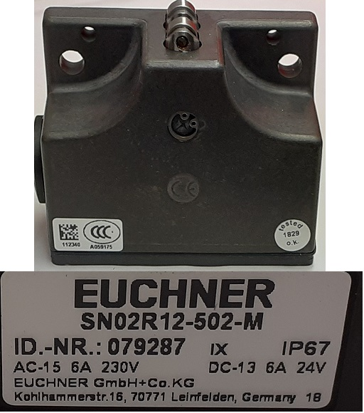 Euchner Limit Switch X & Z Axis For 355, 425 & 555 Lathes