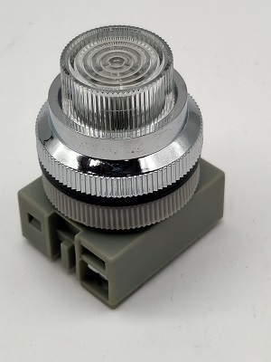 XYZ Top One 1500 Clear Lamp 30mm On Elecrical Cabinet
