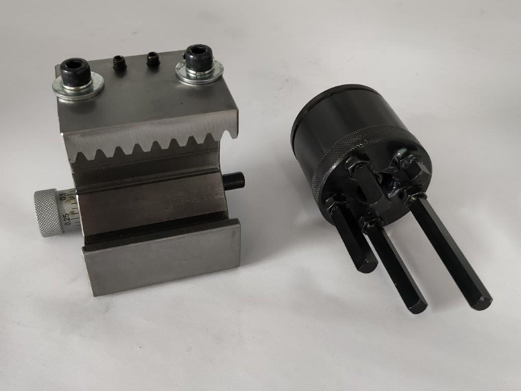 Micrometer Bed Stop + 4 Position Bed Stop 1530 / 1550