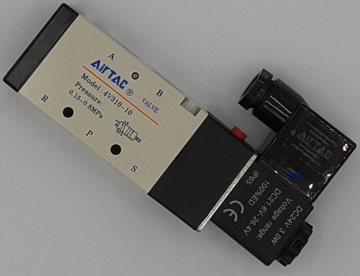 AIRTAC Air Solenoid For XYZ 710 VMC, Pot Air On