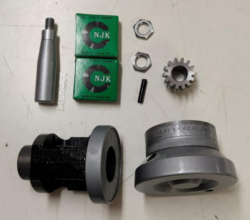 Handwheel Assembly For Carriage / Saddle On 1330