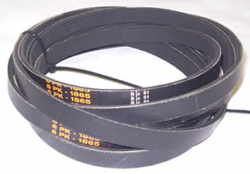 Set of 3 Spindle Drive Belts 5PK1865 - For PRO 420 / 425