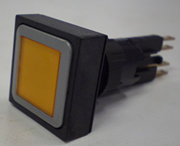 Push Button Switch Amber Illuminated For Vulcan