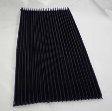 Front Y Axis Concertina Guard For KRV 3000 480mm Width