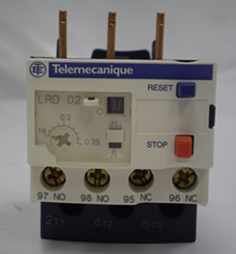 Telemecanique Overload 0.16-0.25 Amp For Coolant Pump