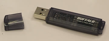 USB Thumb Drive Black, 4Gb