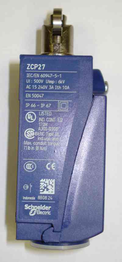 Limit Switch Xck-P102 In Guard Assy On Pro 420 / 1630
