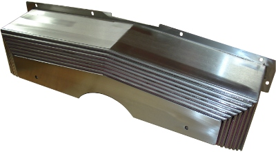DPM4000 Metal Concertina Guard Y Axis Front Dust Cover Guard