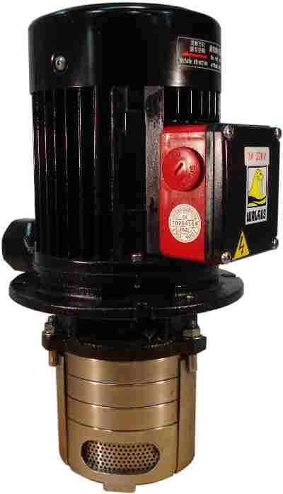 Spindle Coolant Motor & Pump (Walrus) On MM 560 710