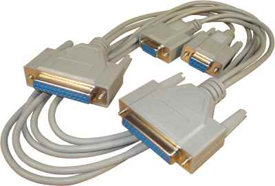 Serial File Transfer Cable Rts Cts Type 9-25 25-9 F/F