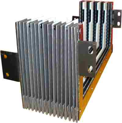 Z Axis Upper Concertina Guard For DPM 3500