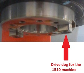 1510 Spindle Drive Dog 2 required per machine